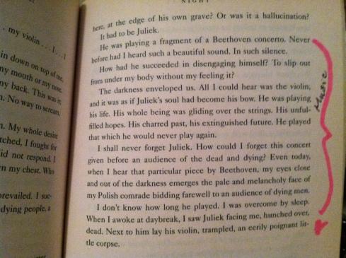 from Elie Wiesel's Night