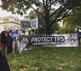 DC protest TPS