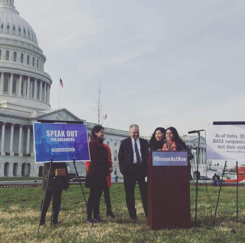 Tim Kaine at Speak Out for Dreamers